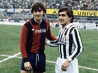 Due giovanissimi: Mancini e Nanu Galderisi