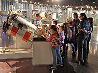 Raffigurazione di Laika al Memorial Museum of Cosmonautics di Mosca