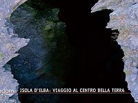 Apertura nella Galleria de Ginevro vista dal drone