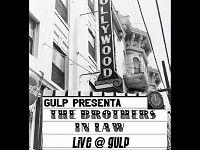 """La locandina dell'evento """"Brothers in Law"""" in programma al negozio GULP"""