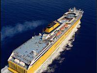 Il traghetto Mega Express Three di Corsica Sardinia Ferries