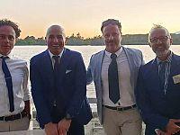 Avv Matteo Sances, Dott. Antonio Gigliotti, Antonio Sorrento Presidente PIN, Massimo Gervasi Presidente Apit