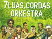 La copertina del cd della 7Luas.Cordas Orkestra