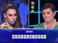 Ginevra sfida la campionessa Elisa al quiz show di Canale 5