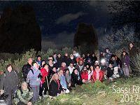 Il Capodanno organizzato presso l'impressionante sito archeologico di Sassi Ritti (Campo nell'Elba) dalla Associazione Le Macinelle.