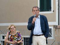 Aldo Claris Appiani durante Elba Book Festival (foto di Marco Barretta)