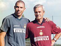Gigi Simoni con Ronaldo nella stagione 1997/98