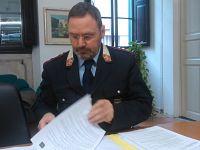 Il comandante delle Polizia locale dell'Unione Valdera, Michele Stefanelli