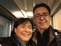 Stefania Saccardi e Nicola Danti