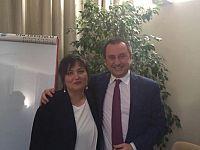 Angela Pirri con Ettore Rosato