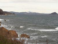 La costa vista da Rio Marina