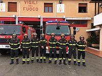 I vigili del fuoco di Portoferraio