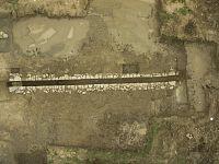 Un particolare dello scavo di Carlappiano