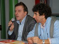Giampaolo Talani con Riccardo Ferrucci