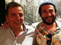 Riccardo Ferrucci con Thomas Berra