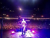 Il concerto di Alex Britti a Siena ( foto fb Alex Britti official )