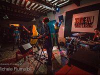 I Blue Parrot Fishes, vincitori del contest Soms Experience 2015, sul palco del circolo S.O.M.S. Anno Zero di Palaia