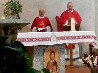 Don Giorgio Mattera insieme a Vescovo Ciattini