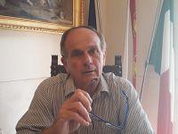 Il sindaco Mario Ferrari