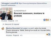 Il Post di QUInews Pisa condiviso da Selvaggia Lucarelli