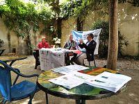 La conferenza stampa a Firenze