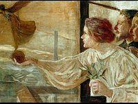 La fabbrica, 1901 - olio su tela - Palazzo Ducale - Fondazione per la cultura Genova