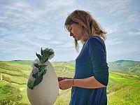 Cristiana Capotondi a San Casciano dei Bagni ( foto instagram )