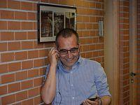 Paolo Mancarella subito dopo l'elezione