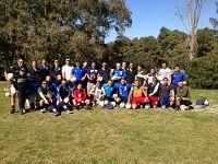 Il gruppo dei partecipanti al torneo