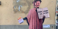 Random Guy, la street art incontra lo street food