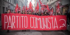 In corteo per ricordare la nascita del Pci - VIDEO