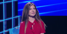 Studentessa pratese al quiz di Gerry Scotti-VIDEO