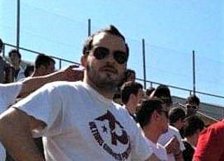 Filippo Signorini, 34 anni, ultras dai primi anni 2000