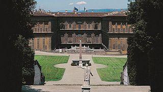 In foto Palazzo Pitti visto da Boboli