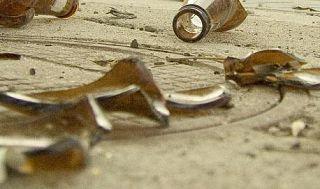 bottiglie rotte