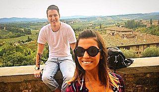 Federico Zini e Elisa Amato - foto da Facebook