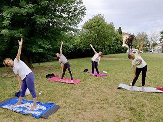 Yoga E Zumba All Aria Aperta Per Tutti Sport Castelfranco Di Sotto
