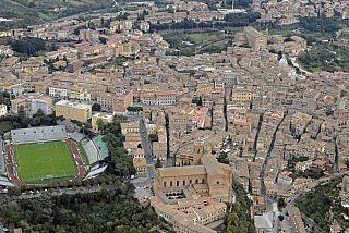 Lo stadio Franchi di Firenze (foto di Piero Frassi)