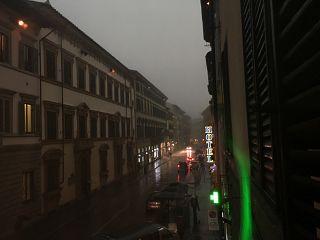 Via Cavour alle 16 di lunedì 29 ottobre, Firenze