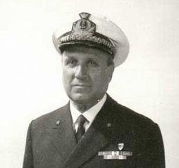 L'ammiraglio Mario Porta in un'immagine durante la sua attività