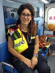 La dottoressa del 118 di Pontedera Antonella Basile