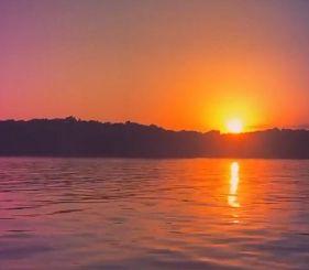tramonto elbano dal video di Luca Carboni
