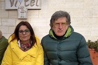 Nicoletta Cursi e Leonardo Mattolini