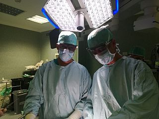 operazione robotica alla prostata all ospedale di prato en