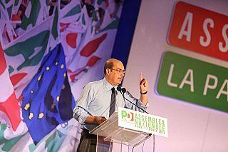 Nicola Zingaretti oggi in assemblea nazionale