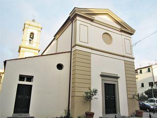 La chiesa Santa Lucia in Banditella a Livorno