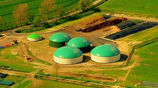 Un impianto biogas in Germania