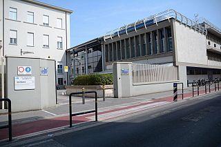 L'ospedale Lotti di Pontedera dove si è verificato il guasto