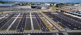 Il parcheggio di Villa Costanza