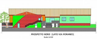 La vista da via Morandi (Largo Montessori)